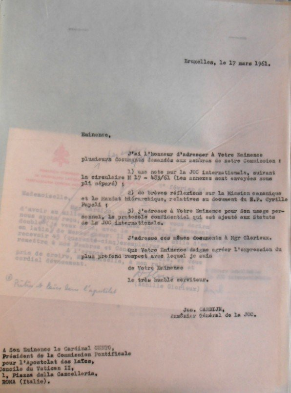 Cardijn - Cento 17 03 1961