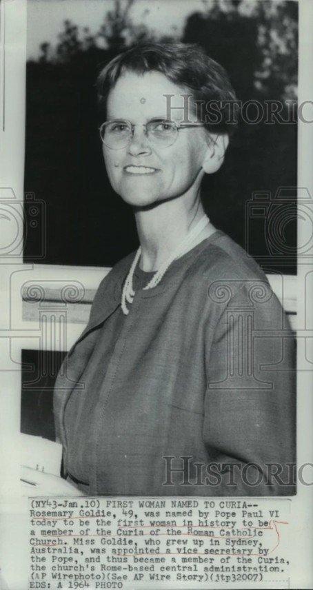 Rosemary Goldie 1964